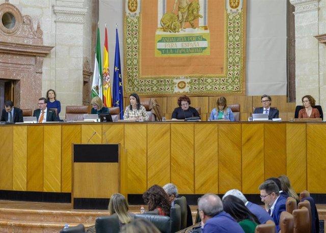 Archivo - Imagen del Pleno del Parlamento