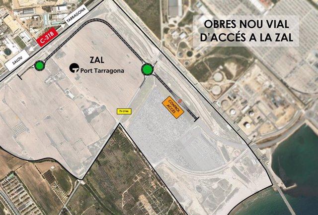 El Port de Tarragona començarà a l'octubre les obres a la Zona d'Activitats Logístiques