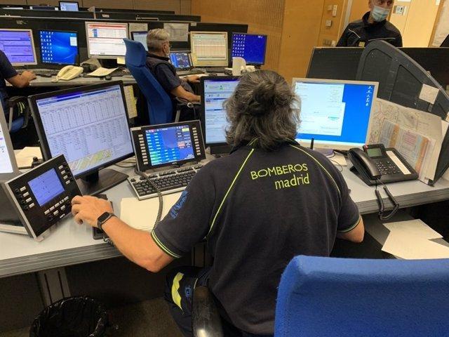 Bomberos de Madrid realizaron 58 salidas relacionadas con la tormenta, ninguna de ellas de gravedad