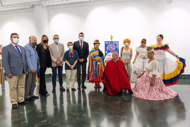Presentación de la décimo cuarta edición del Otoño Cultural Iberoamericano (OCIb) de Huelva.