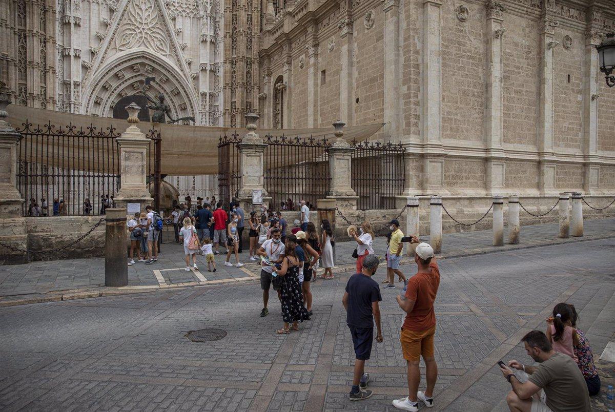 La Catedral de Sevilla recibe 200.000 visitantes desde su reapertura al público en mayo