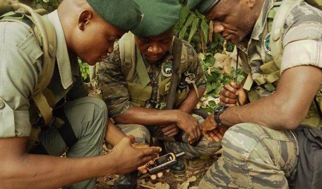 Archivo - Guardabosques de República Democrática del Congo.
