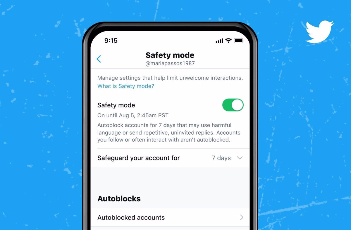 Twitter introduces safe mode, which automatically blocks abusive content