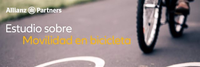 Estudio sobre movilidad en bicicleta de Allianz Partners