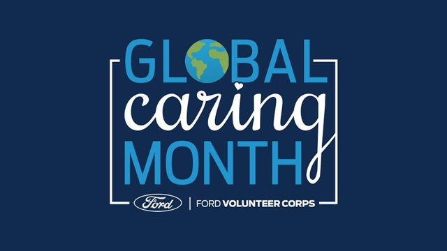 Imagen del Global Caring Month que celebra cada año Ford.