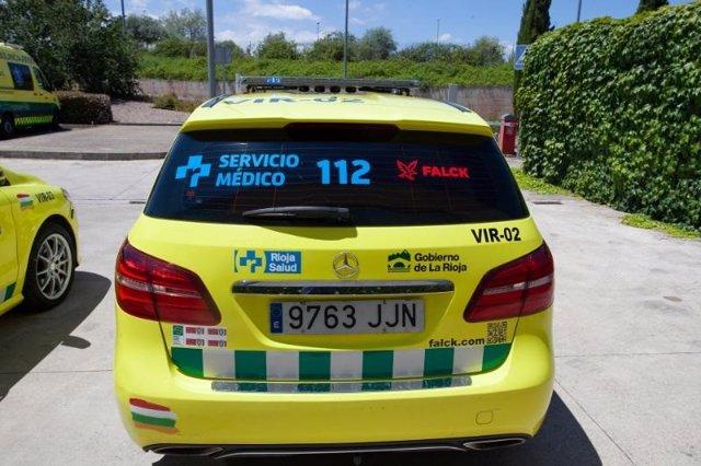 Vehículo VIR de La Rioja