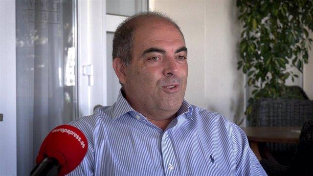 El presidente de la Asociación de Trabajadores Autónomos (ATA), Lorenzo Amor, en una entrevista a Europa Press