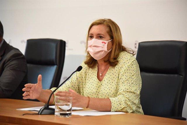 La consejera de Educación, Cultura y Deportes de C-LM, Rosa Ana Rodríguez