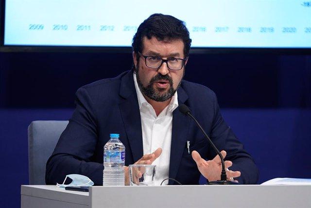El secretari d'estat d'Ocupació i Economia Social, Joaquín Pérez Rey