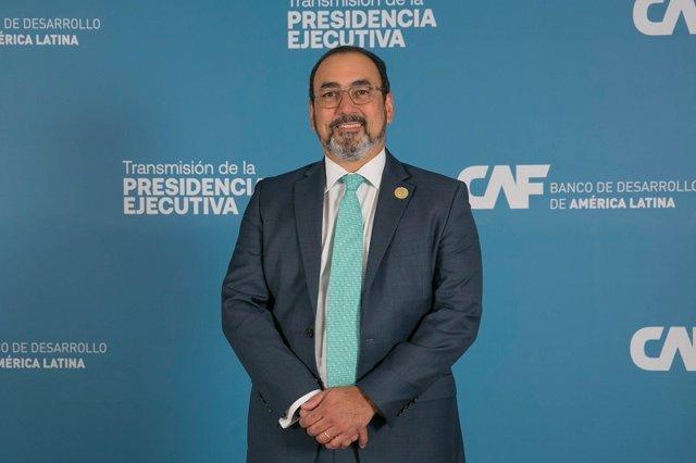 Archivo - El presidente ejecutivo de CAF, Sergio Díaz-Granados