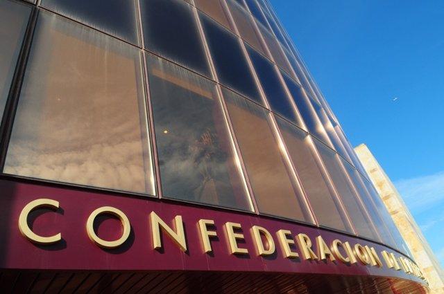 Archivo - Imagen de la sede de la Confederación de Empresarios de Andalucía (CEA).