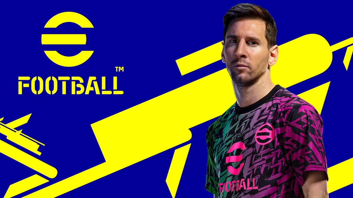 The video game eFootball 2022, successor to PES, will be released for free on September 30
