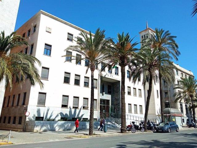 Archivo - Sede de la Audiencia Provincial de Almería
