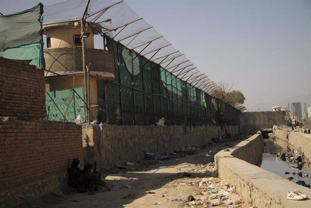 Inmediaciones del aeropuerto de Kabul tras el atentado