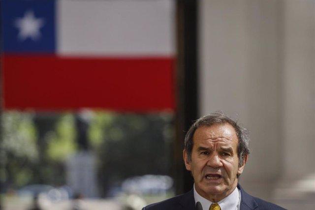 Archivo - El ministro de Relaciones Exteriores, Andres Allamand