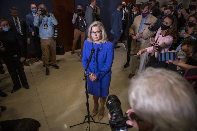Archivo - La representante republicana por Wyoming, Liz Cheney