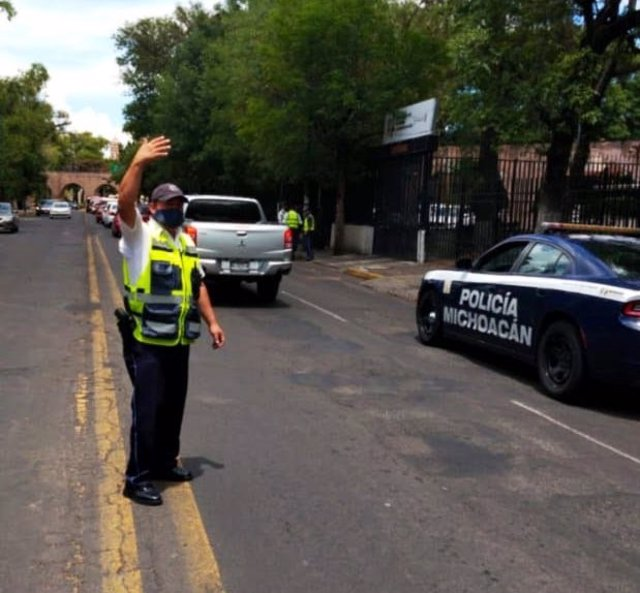 Archivo - Policía de Michoacán, México