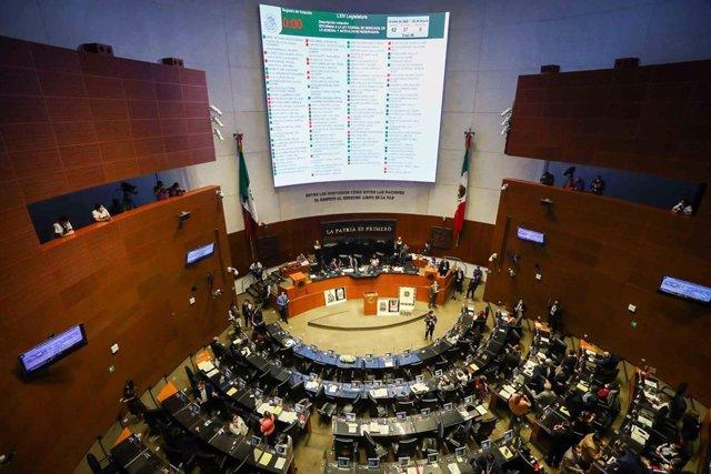 Archivo - Imagen de archivo del Senado de México.