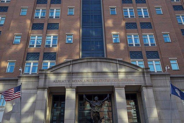 Archivo - El Tribunal de Distrito de EEUU encargado del caso.