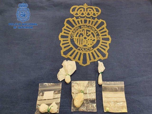 Detenida en Pamplona tras serle intervenidos cerca de 9 gramos de speed.