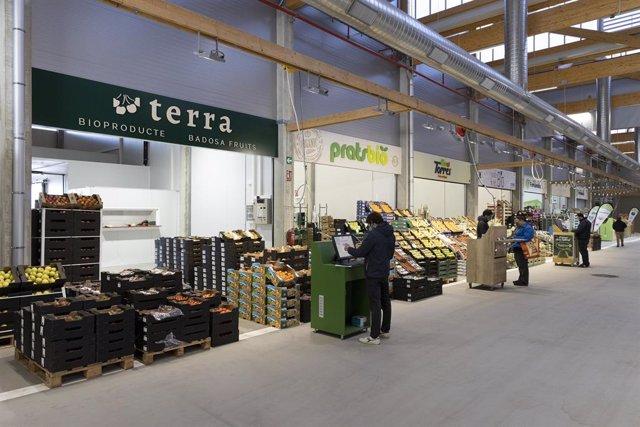 Interior de Biomarket