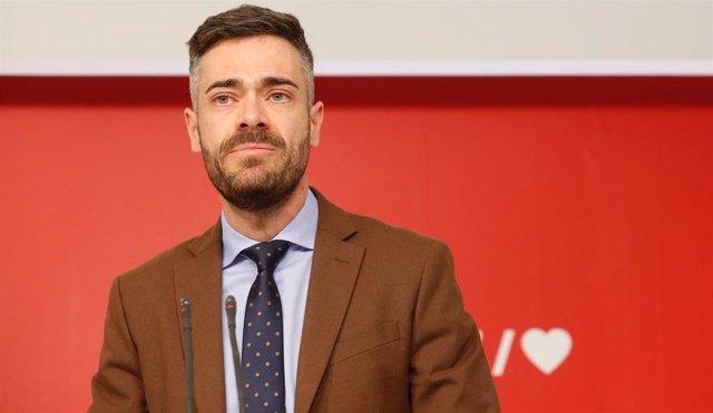 Archivo - Arxiu - El portaveu adjunt del PSOE al Congrés dels Diputats, Felipe Sicilia