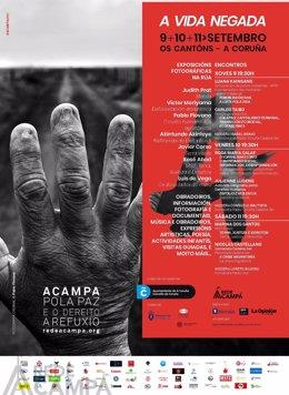 Programa del Encuentro Acampa por la Paz