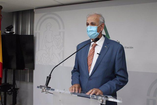 El delegado de Igualdad, Políticas Sociales y Conciliación de la Junta en Granada, Manuel Montalvo.