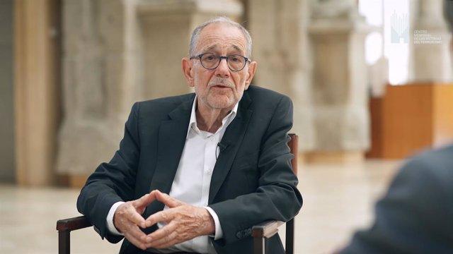 Javier Solana, en la conversación con Gabilondo grabada por el Memorial de Víctimas
