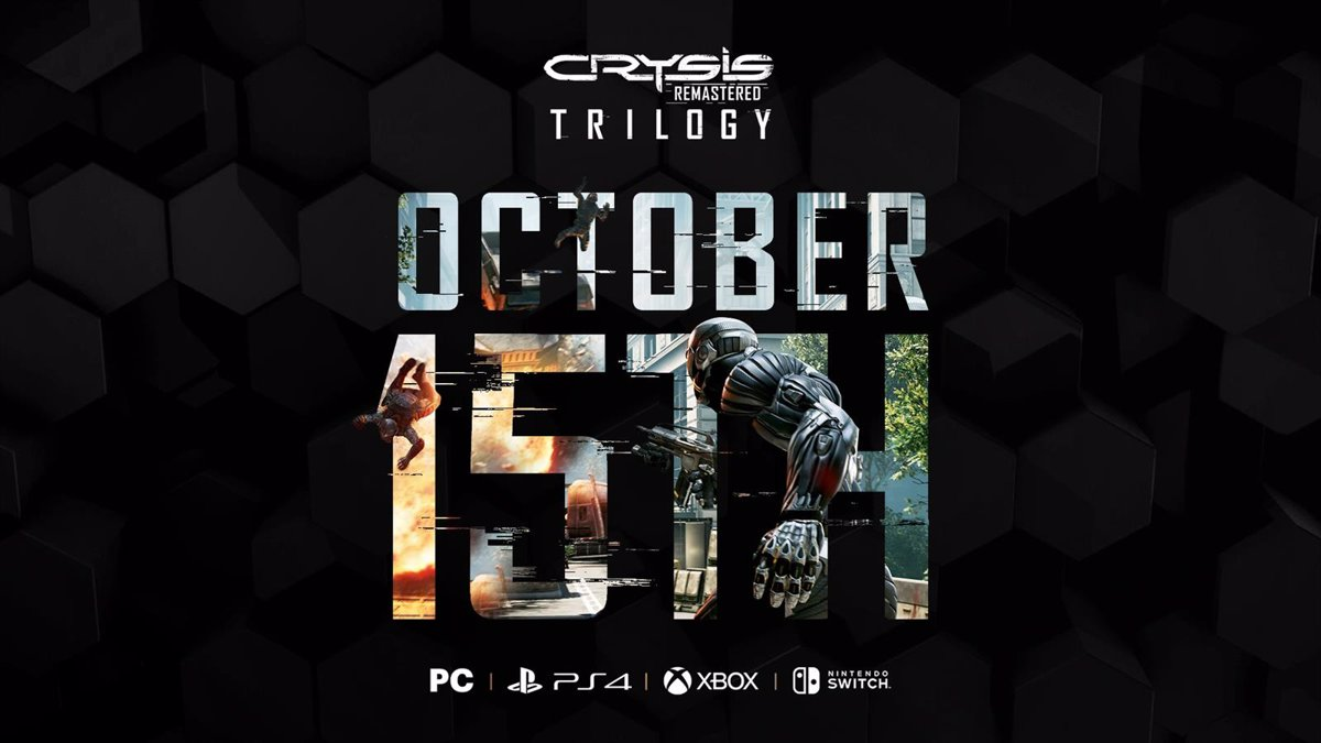 Crysis Trilogy Remastering Launches October 15