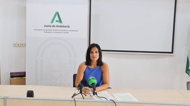 La delegada territorial en Sevilla, Ana González Pinto
