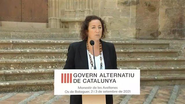 La portaveu del PSC al Parlament i del 'govern alternatiu' dels socialistes, Alícia Romero