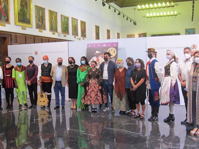 """Presentación del XXX Encuentro Internacional de Folclore """"Ciudad de Zaragoza"""""""