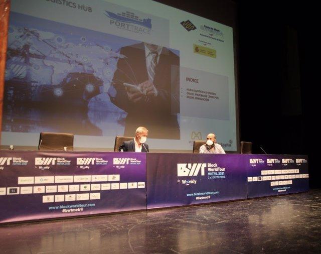 La Autoridad Portuaria de Motril (Granada) ha presentado en el congreso Block World Tour, que estos días se celebra en esta localidad costera, el proyecto 'Diloh-Porttrace'.
