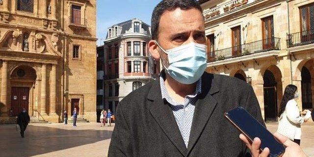 Archivo - El concejal del PSOE en el Ayuntamiento de Oviedo, Ricardo Fernández