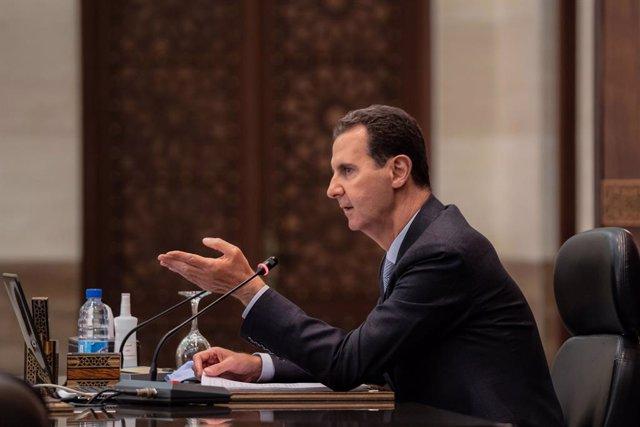 Archivo - El presidente sirio, Bashar al Assad.