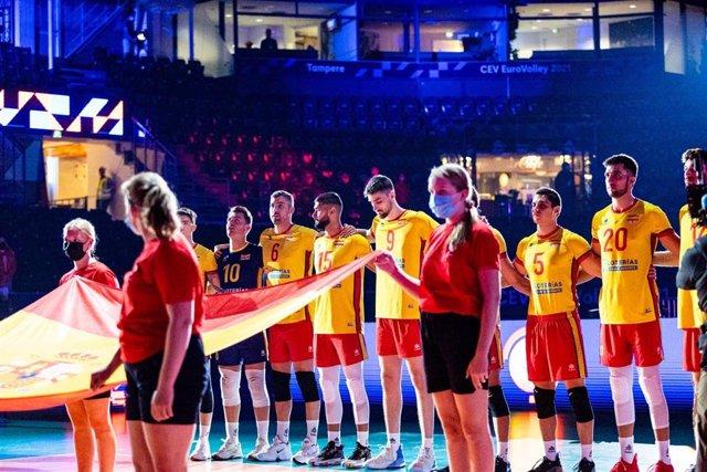 Selección española masculina de voleibol