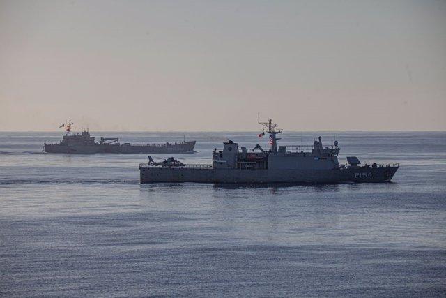 Dos buques cargados de suministros donados llegan a Haití procedentes de México