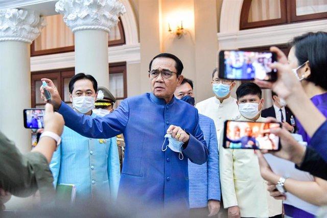 Archivo - El primer ministro de Tailandia, Prayuth Chan Ocha.