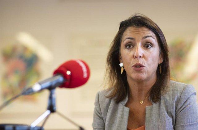 Marta Bosquet, durante la entrevista