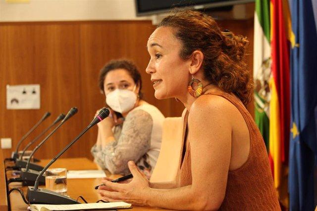 La portavoz adjunta de Unidas Podemos por Andalucía, Ana Naranjo (archivo)