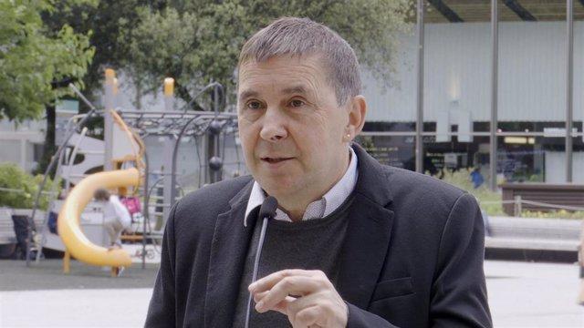 Archivo - El coordinador general de EH Bildu, Arnaldo Otegi.