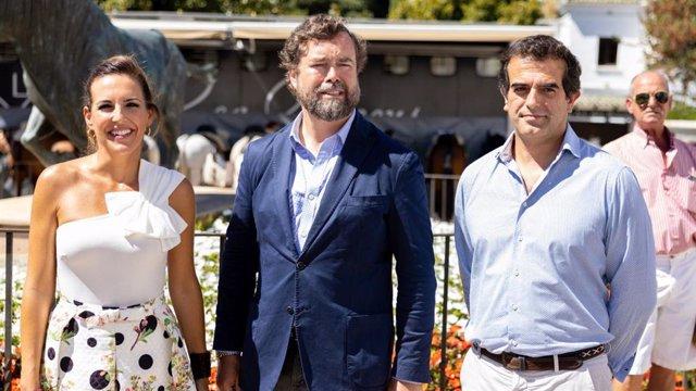 Iván Espinosa de los Monteros, portavoz del GPVOX en el Congreso, en su visita a Ronda