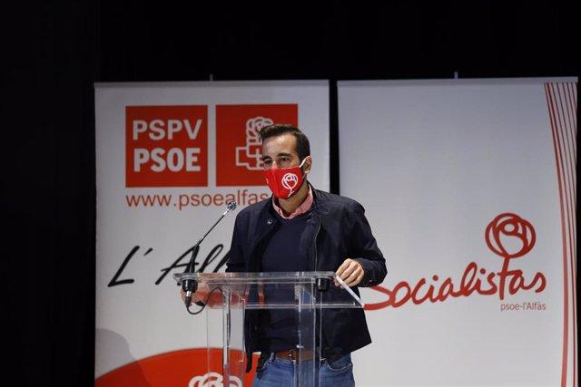 Archivo - El secretario de Organización del PSPV, José Muñoz, en una imagen de archivo.