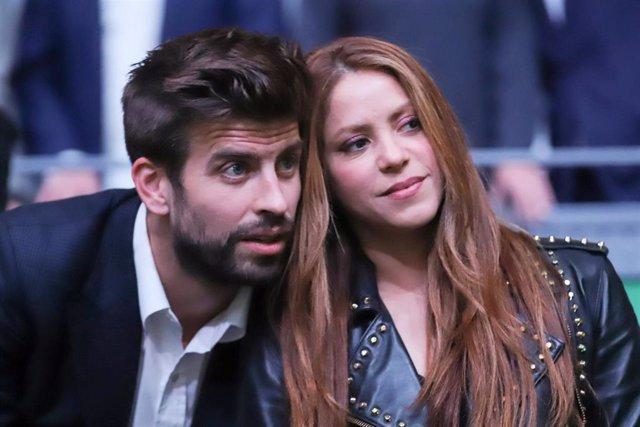 Archivo - Gerard Piqué y Shakira
