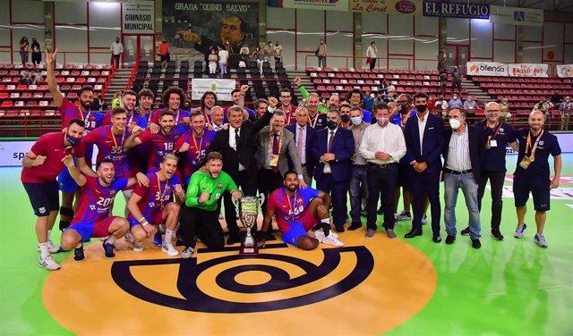 El Barça, campeón de la Supercopa de balonmano