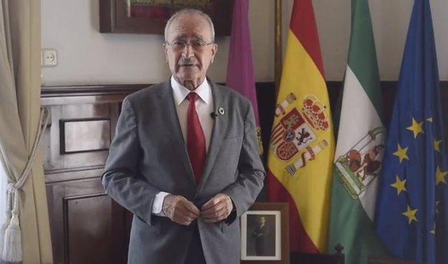 Archivo - El alcalde de Málaga, Francisco de la Torre