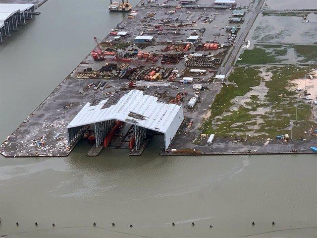 Louisiana després del pas de l'huracà 'Anada'