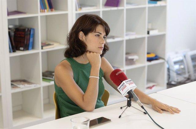 La coportavoz de Podem, Isa Serra