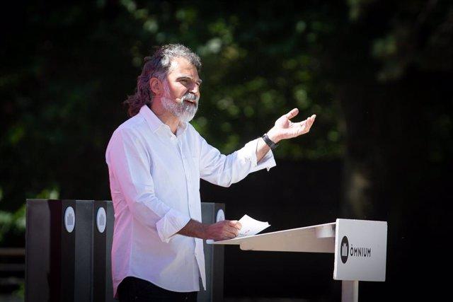 Archivo - Arxivo - El president d'Òmnium Cultural, Jordi Cuixart